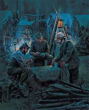 KÜNSTLER American Civil War LETTER FROM HOME Confederate South & 4 Bonus Prints!