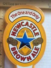 """BEER TAP HANDLE NEWCASTLE BROWN ALE 10""""+"""