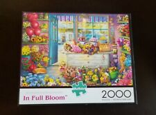 Buffalo Games Jigsaw Puzzle **2000 PIECES IN FULL BLOOM**