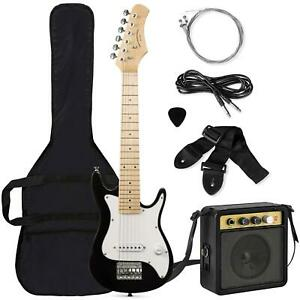 Electric Guitar Starter Kit 30 Inch For Beginner Kids Instrument with Amplifier