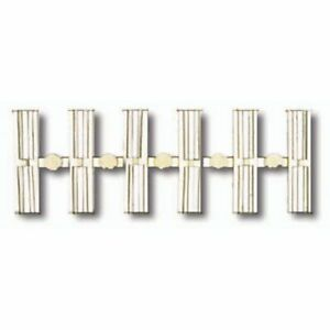 Atlas 2538 - Code 80 Plastic Insulating Rail Joiners (24 pcs./blister) - N Scale