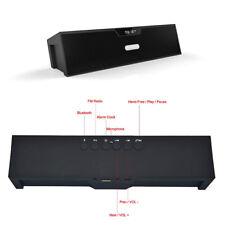 SDY-019 Enceinte Bluetooth + FM Radio Lecteur De Carte Mémoire USB Horloge