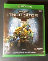Warhammer 40,000 Inquisitor Martyr (XBOX ONE) NEW