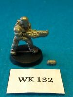 WH40K - Imperial Guard - Catachan Melta Gun Damaged - Metal WK132