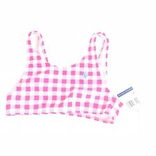 NEW RALPH LAUREN Pink Bathing Suit TOP Kids Girl Swim Wear NWT 6x