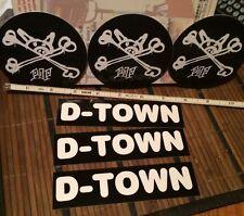 Dogtown P.O.P. Skateboard Stickers Z-boys Tony Alva Jay Adams Rare Free Shipping