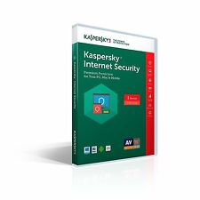 2 minutes processing Kaspersky Internet Security 1 device 1 year 2018