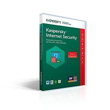 Kaspersky Internet Security 1 device 1 year 2017