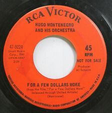 Pop Promo 45 Hugo Montenegro And His Orchestra - For A Few Dollars More / For A