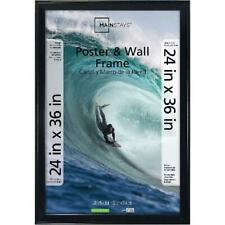 24x36 Casual Poster Picture Frame Walnut W Wertical Horizontal Wall Display New