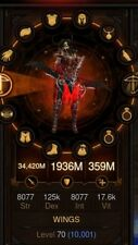 DIABLO 3 ROS PS4 (Demon Hunter Primal Ancient Unhallowed Essence Set)