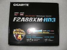 Gigabyte GA-F2A88XM-HD3, µATX Mainboard, FM2+/FM2, DDR3, HDMI, DVI, USB3.0 SATA3