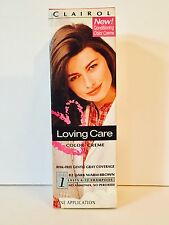 Loving Care 82 Dark Warm Brown Color Creme Hair Color By Clairol