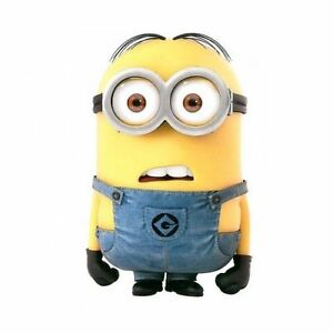 "DESPICABLE ME MINION DAVE 10"" CARDBOARD STANDEE MINION PARTY TABLE DESKTOP"