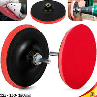 Disco de Pulido con Velcro para fieltro tuerca adaptador de 14m Plato Lijado