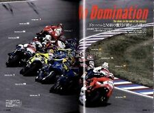 RACERS Vol.36 November,2015 Valentino Rossi's HONDA NSR Final WGP MOTO GP BOOK