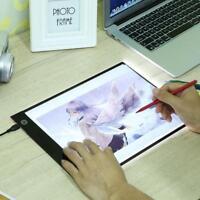 Digital A4 LED Light Box Pad Tatoo Tracing Board Panel Drawing Graphics Tablet