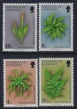1975 GUERNSEY FERNS SET OF 4 FINE MINT MNH/MUH