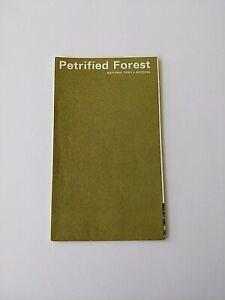1978 PETRIFIED FOREST NATIONAL PARK POCKET MAP TOURIST GUIDE BROCHURE, ARIZONA