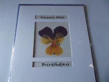 Happy 50th Birthday.........Blank Greetings Card....By Caroline Moore