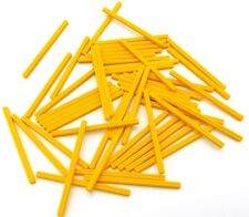 Lego Lot of 50 New Yellow Technic Axles 9 Car Truck Pieces Parts
