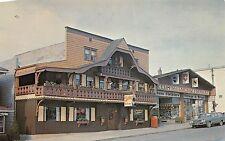 Der Schwyzer Hut Eassa Stuba Sugarcreek Ohio 1960s Postcard Swiss Restaurant