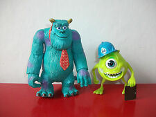 16.2.28.11 lot 2 Figurines Bob sully Monstres et compagnie Disney hasbro 2001
