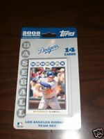 Los Angeles Dodgers 2008 Topps Team Sets Baseball Cards