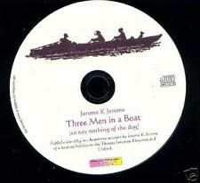 Three Men in a Boat - Jerome  - audio book Mp3 CD