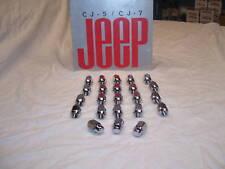 Jeep CJ, CJ Laredo, cj lugnuts, CJ Wheels
