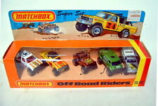"""MATCHBOX superfast """"off road riders"""" Giftset usa 1981"""