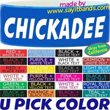 Chickadee Wristband Bracelet Inspired by Honey Boo Boo Wrist Band Merchandise