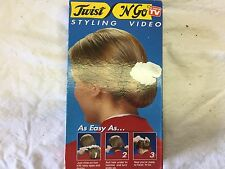 Twist n Go Styling Magic Video VHS