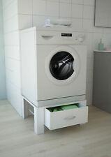 Waschmaschinenerhöhung Waschmaschinen Untergestell Sockel mit Schublade respekta