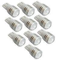 10 ampoule T10 W5W 12V LED HIGH POWER blanc veilleuse éclairage intérieur coffre