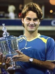 AWESOME ! STUNNING ! BRAND NEW WITH TAGS ! ROGER FEDERER 2005 US OPEN NIKE SHIRT