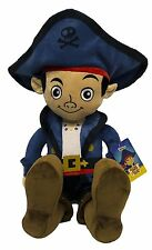 "18"" Disney Jake and the Neverland Pirates Pillowtime Pal Cuddle Pillow Doll Budd"