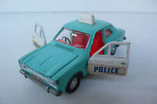 DINKY TOYS ENGLAND    FORD ESCORT POLICE   REF 270     1969