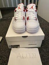 Nike Air Jordan 4 Retro Metallic Red UK9 US10