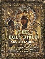 The Holy Bible: New Testament: Large Print by Pure Cambridge Edition (Paperback / softback, 2015)