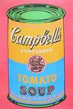 Andy Warhol Campbells Tomato Soup Poster Kunstdruck Bild 91x61cm