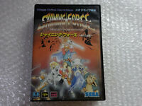 Shining Force The Legacy of Great Intention + Map Sega Megadrive Japan