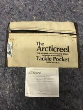 Vintage The ArctiCreel Canvas Fishing Creel Snap-on Tackle Pocket P-1