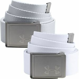Under Armour Mens Reversible Webbing Belt 2.0 Cut To Fit