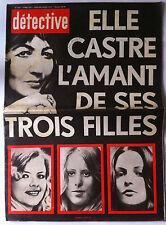 QUI ? Police 18/5/1979; Le Scandale Mesrine/ Le procès du Parricide/ Cornoglion