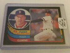 1991 Fleer All-Stars #10 Roger Clemens : Boston Red Sox