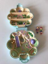 EUC 100% Complete Vintage Polly Pocket Midge's Flower Shop 1990