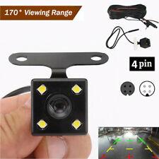 4LEDs Lamp Night Vision Backup Rear View Car Camera Parking Monitor Recorder