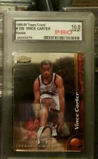 Vince Carter 1999 Topps Finest RC #230 PRO 10 !