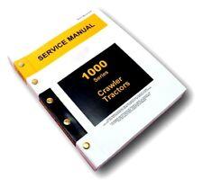 SERVICE MANUAL FOR JOHN DEERE 1010 CRAWLER LOADER DOZER TRACTOR REPAIR SHOP